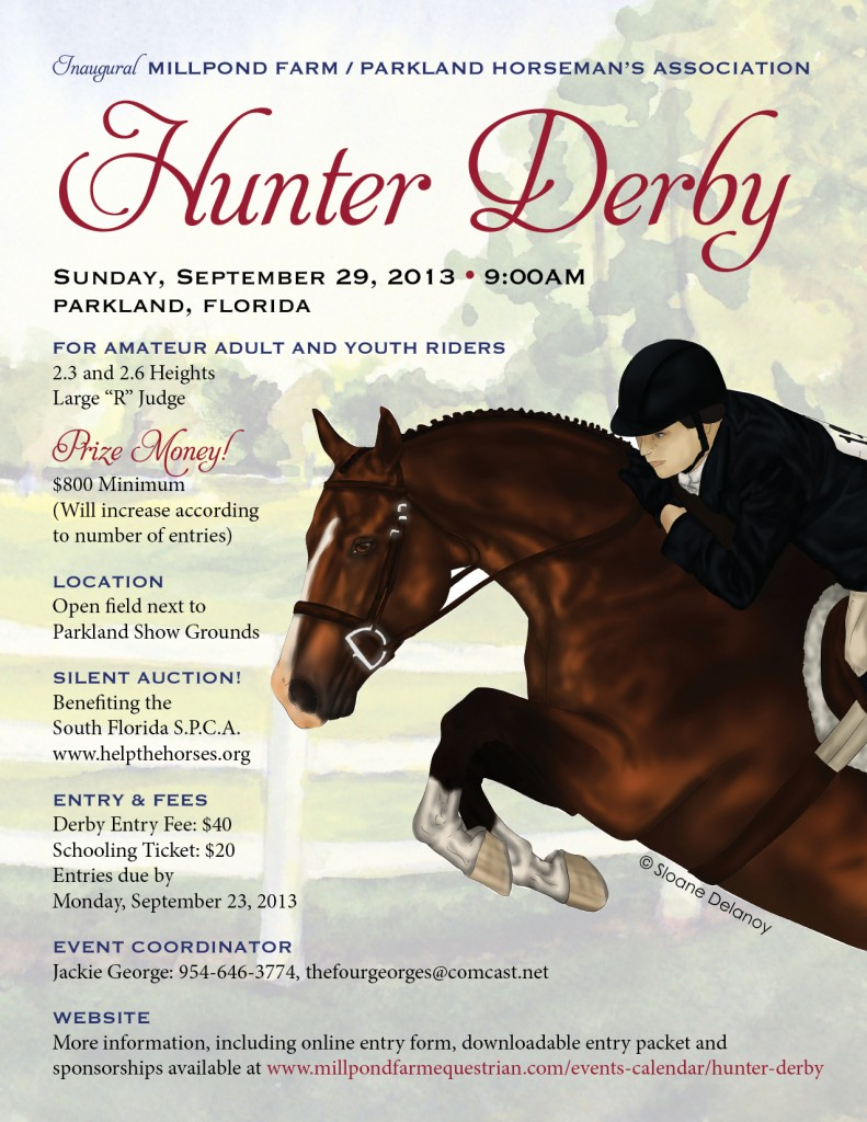 Millpond Farm Pha Hunter Derby Amp Silent Auction Benefiting