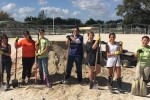 University of Miami pre vet students at South Florida SPCA
